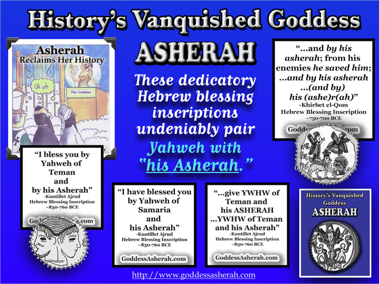Asherah & Yahweh Inscriptions