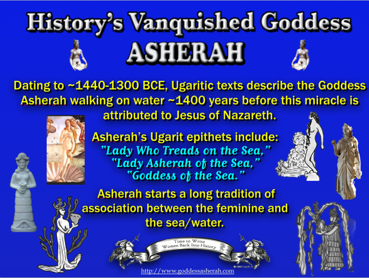 Asherah Walks on Water 6-7-17