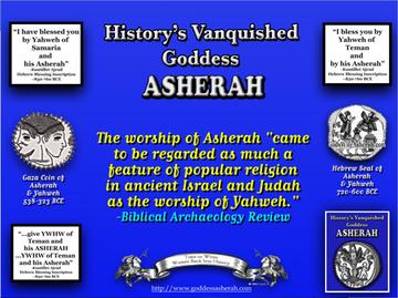 Asherah Worship = Yahweh Worship | History's Vanquished