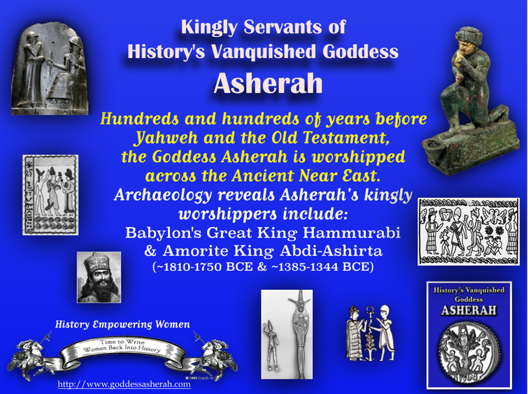 Asherah's Kingly Servants